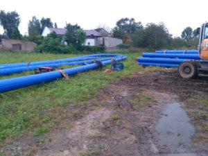 Zakończenie budowy sieci wodociągowej w Dopiewie